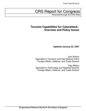 Terrorist Capabilities for Cyberattack: Overview and Policy Issues