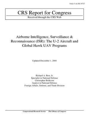 Airborne Intelligence, Surveillance and Reconnaissance (ISR): The U-2 Aircraft and Global Hawk UAV Programs