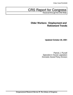 Older Workers: Employment and Retirement Trends