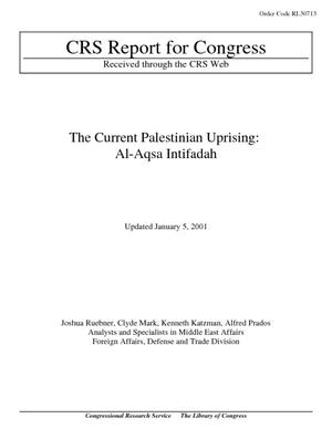 The Current Palestinian Uprising: Al-Aqsa Intifadah