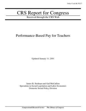 Performance-Based Pay for Teachers