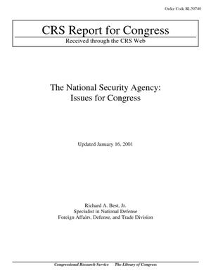 The National Security Agency: Issues for Congress