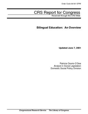 Bilingual Education: An Overview