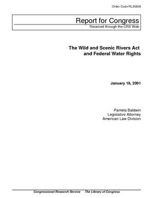 The Wild and Scenic Rivers Act and Federal Water Rights