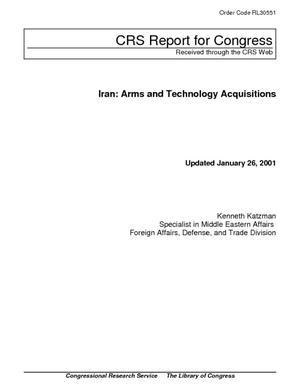 Iran: Arms and Technology Acquisitions