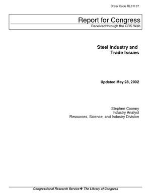 Steel Industry and Trade Issues