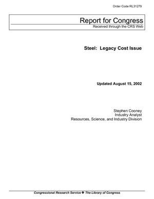 Steel: Legacy Cost Issue