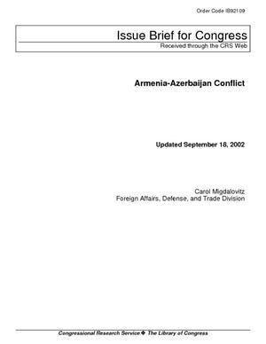 Primary view of Armenia-Azerbaijan Conflict