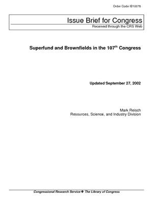 Superfund and Brownfields in the 107th Congress