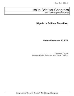 Nigeria in Political Transition