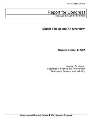 Digital Television: An Overview
