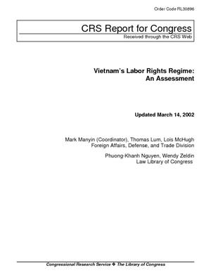 Vietnam's Labor Rights Regime: An Assessment