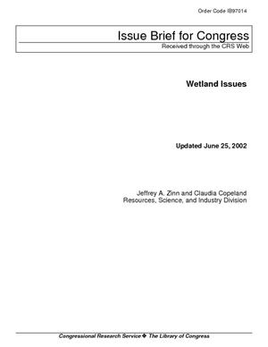 Wetland Issues