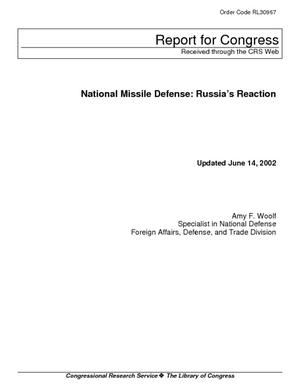 National Missile Defense: Russia's Reaction