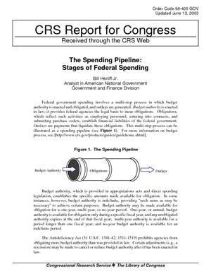 The Spending Pipeline: Stages of Federal Spending