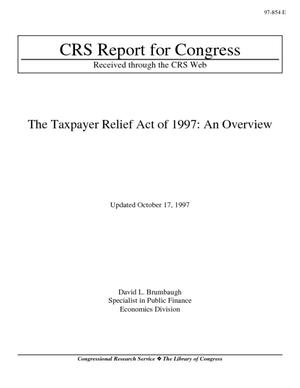 The Taxpayer Relief Act of 1997: An Overview