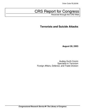 Terrorists and Suicide Attacks