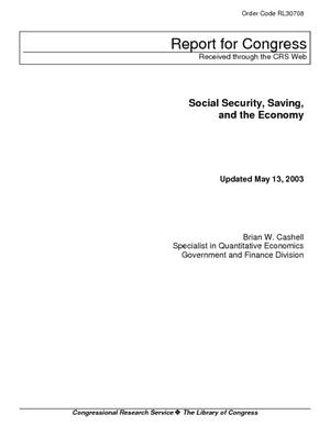 Social Security, Saving, and the Economy