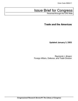 Trade and the Americas
