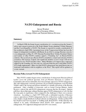 NATO Enlargement and Russia
