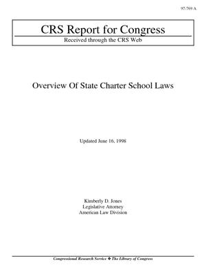 Overview of State Charter School Laws