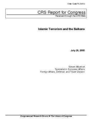 Islamic Terrorism and the Balkans