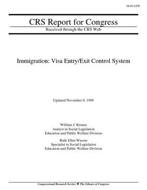 Immigration: Visa Entry/Exit Control System
