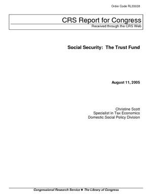 Social Security: The Trust Fund