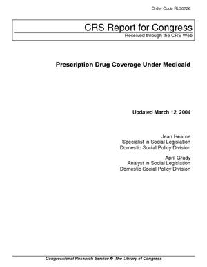 Prescription Drug Coverage Under Medicaid