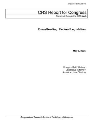 Breastfeeding: Federal Legislation