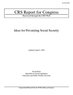 Ideas for Privatizing Social Security