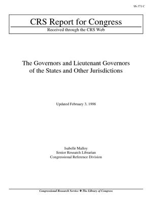 The Governors and Lieutenant Governors of the States and Other Jurisdictions