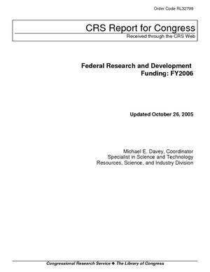 Federal Research and Development Funding: FY2006