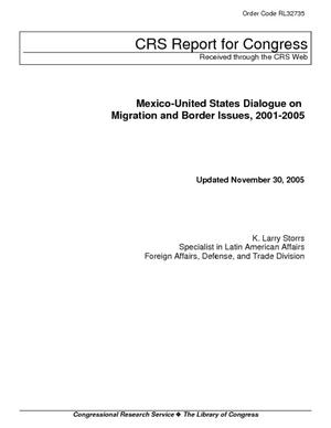 Mexico-United States Dialogue on Migration and Border Issues, 2001-2005