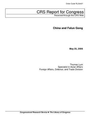 China and Falun Gong