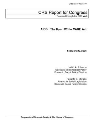 AIDS: The Ryan White CARE Act