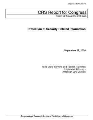 Protection of Security-Related Information