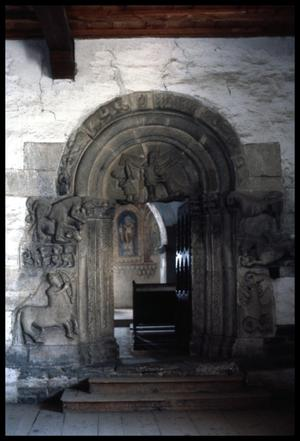 [Carved Archway]