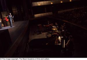 Primary view of object titled '[Hip Hop Broadway: The Musical Photograph 229]'.