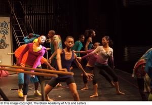 Primary view of object titled '[Hip Hop Broadway: The Musical Photograph 461]'.