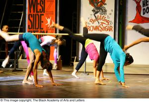 Primary view of object titled '[Hip Hop Broadway: The Musical Photograph 336]'.