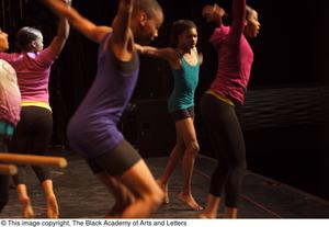 Primary view of object titled '[Hip Hop Broadway: The Musical Photograph 490]'.