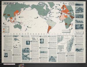 Newsmap. Monday, May 11, 1942 : week of May 1 to May 8