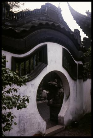 Primary view of object titled '[Round Portal]'.