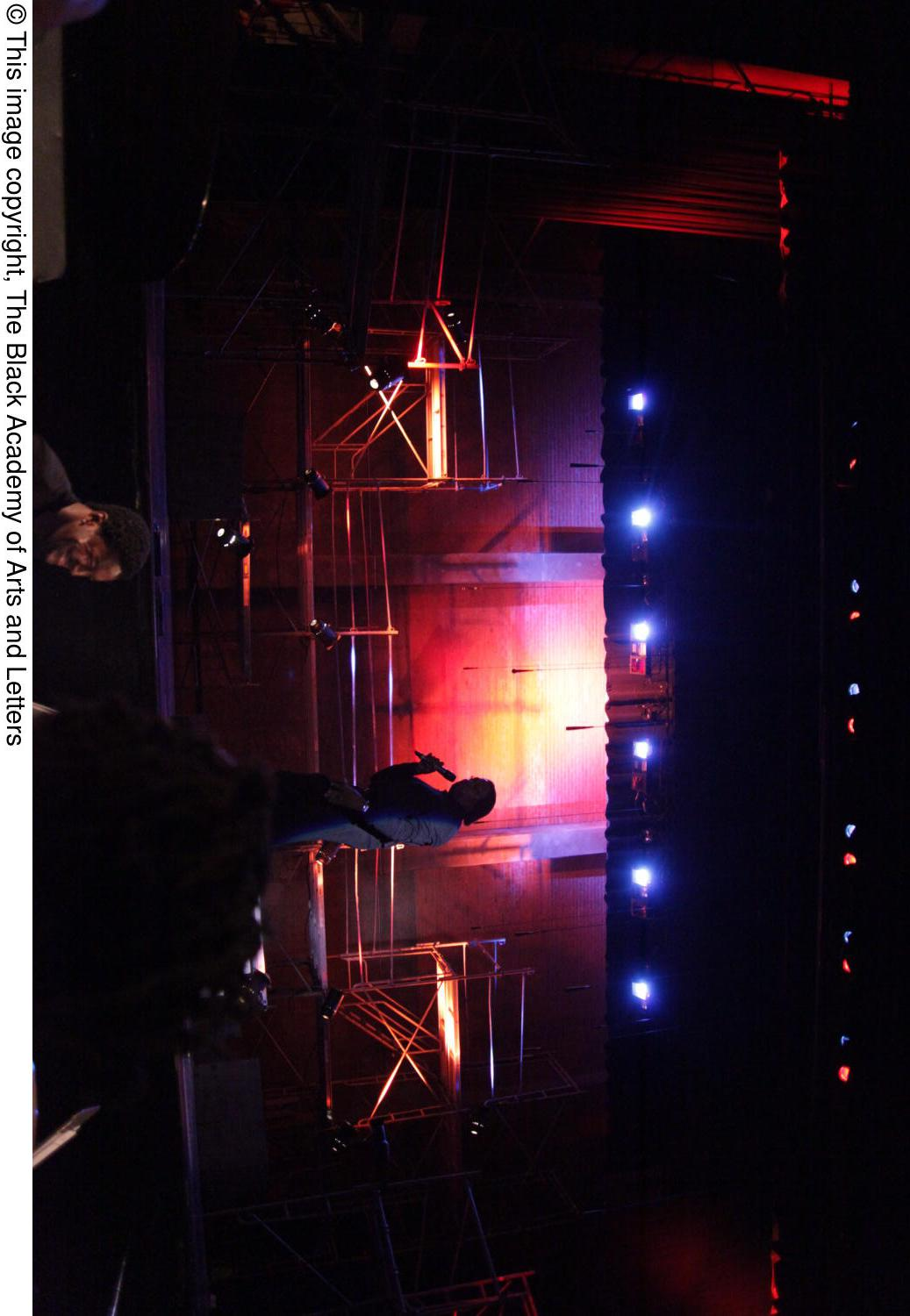 [Curtis King onstage at Aretha: The Musical]                                                                                                      [Sequence #]: 1 of 1