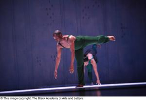 Primary view of object titled '[Dancers on Stage]'.