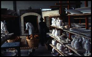 Primary view of object titled '[Ceramics Factory]'.