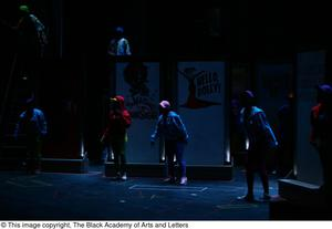 Primary view of object titled '[Hip Hop Broadway: The Musical Photograph 295]'.