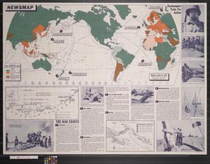 Newsmap. Monday, October 12, 1942 : week of October 2 to October 9