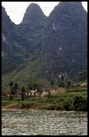 Primary view of object titled '[Hills of Guilin]'.
